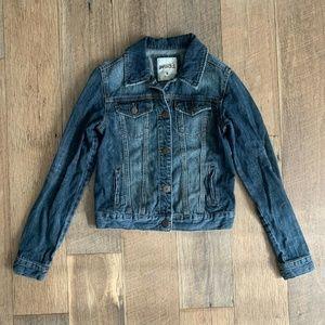 Mudd Denim Jacket Medium Button Front Womens Jean
